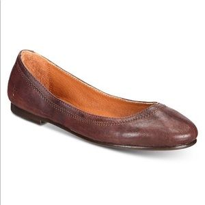 Frye Carson Leather Flats